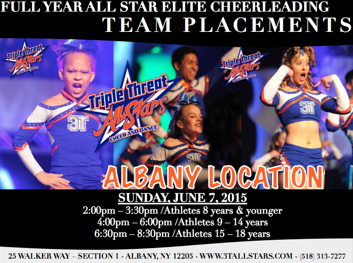 Albany Team Placement Flyer