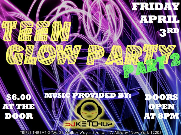 Glo teen party ny